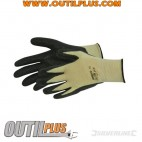 Gants polyester-coton-kevlar enduction nitrile