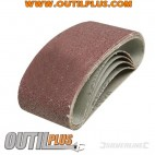 5 bandes abrasives 60 x 400 mm