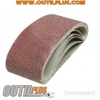 5 bandes abrasives 65 x 410 mm
