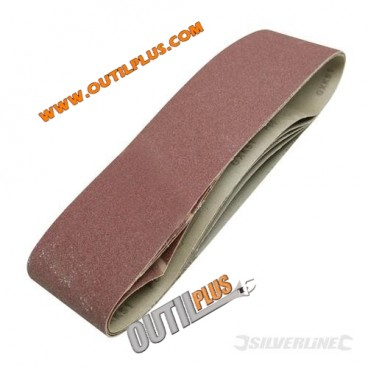5 bandes abrasives 100 x 915 mm