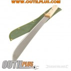 Machette et fourreau nylon 40 cm